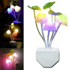 Mushroom LED Plug in Wall Lamp Night Light Kids Bedroom Lamp Home Decor Gift AU