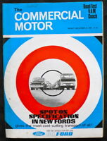 COMMERCIAL MOTOR MAGAZINE 31 DEC 1965 - SPECIFICATION IN NEW FORD, BEDFORD TEST