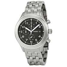 Fossil Womens Compass Black Dial Quartz Watch JR1431