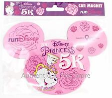 NEW Run Disney 2017 Princess 1/2 Marathon 5K CHIP MRS POTTS Mouse Ear Car Magnet