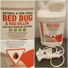 Ecoraider Bed Bug Killer Spray Natural Non-Toxic Bio-insecticide Control 1 Gal