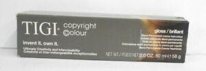 TIGI COPYRIGHT GLOSS / BRILLIANT Demi-Permanent Professional Hair Color  2 fl oz