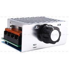 AC 220V SCR Electric Volt Regulator Speed Controller+Shell 4000W High Power 1Pcs