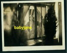 GRETA GARBO VINTAGE 8x10 PHOTO LOOKING OUT WINDOW 1929 MGM SINGLE STANDARD