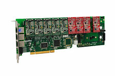 OpenVox A1200P0504 12 Port Analog PCI Base Card + 5 FXS + 4 FXO, Ethernet (RJ45)