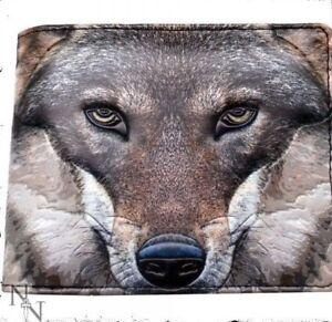Nemesis Now Men's Wallet Portrait Of A Wolf