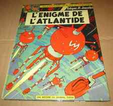 1970 Vieille bd Blake et Mortimer Enigme de l'Atlantide  Edgard P Jacobs