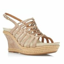 Leather Sandals Heels for Women