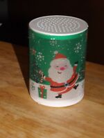 "It's In The Bag 4"" LED flameless Santa Clause color changing candle (NEW)"