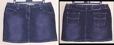 Mini jupe en jean femme T. 40