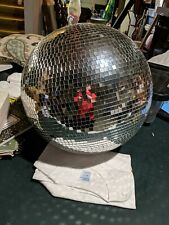 """16"""" Mirror Glass Disco Ball Dj Dance Party Bands Club Stage Lighting"""