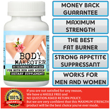 100% Authentic. Diet Pills.Take 2 per day! BODY MAKEOVER Slimming Capsules