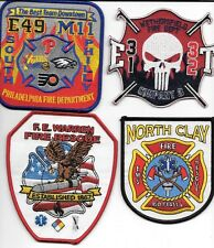 4 - New Fire Patches - Set # 336   fire patch