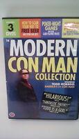 Modern Con Man DVD Todd Robbins - Free Beer Workplace Pranks - MISSING 1 DISC