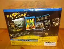 MAD MAX Fury Road Interceptor JAPAN Limited Edition Model Car Blu-ray F/S