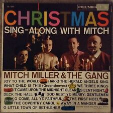 Christmas Sing Along with Mitch Miller Columbia LP Records Vinyl Album CL 1205