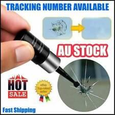 2x Automotive Glass Nano Repair Fluid- Auto Front Car Windshield Crack Repair AU