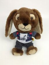 "Build A Bear Workshop Brown Mini 8"" Bunny Rabbit w/ Outfit Plush Stuffed Toy"