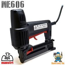 Maestri ME606 Electric Divergent Tacker / Nailer / Stapler (606 Floor Laying)