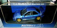AUTOart 1:18 Scale 1998 Subaru Impreza 22b Rally Blue Boxed