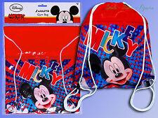 Disney Mickey Mouse Bolsa De Gimnasio, Deporte, Para Mochila