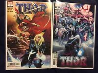 THOR #4 First Print & #5 Second Print NM 1st Black Winter Donny Cates Marvel