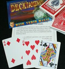 Decktamental --Bicycle poker --Ron Frost's clean 6-card divination          TMGS