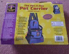 Pet dog carrier rucksack Backpack Bag