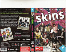 Skins-207/13-TV Series UK-Complete Fifth Series-3 Disc-8 Episodes-DVD
