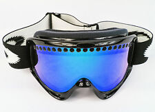 REPLACEMENT GS BLUE MIRROR DUAL VENTED SNOW SKI LENS fit OAKLEY O-FRAME GOGGLES