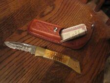 CASE XX KNIFE FOLDING HUNTER 59L SS NAHC HERITAGE KNIFE WITH C.O.A. & CASE MINT