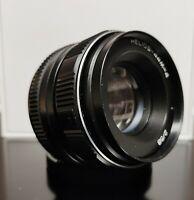 HELIOS 44M-4 2/58mm Soviet SLR Lens Pentax Zenit M42 Perfect Boke.Excellent.