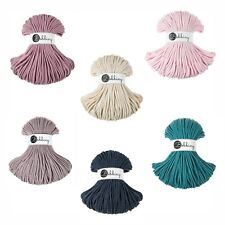 5mm Bobbiny Macramé Rope / Cord - 100% Cotton - 100m - NEW COLOURS ADDED 11/11