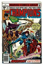 Champions 14   Iceman dons new costume   1st Swarm