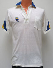 vtg SAN DIEGO CHARGERS Polo Shirt MED 70s/80s nfl white football M throwback