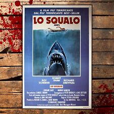 Poster Film Lo Squalo, The Jaws  - Formato: 35x50 CM