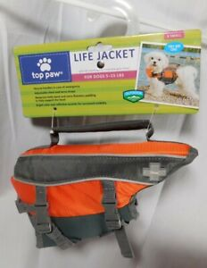 Top Paw Life Jacket. Size X Small (Dogs 5 - 15 lbs) New