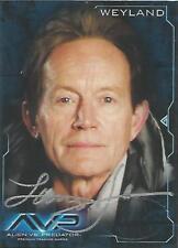 "Alien Vs Predator AVP: Lance Henriksen ""Weyland"" Dealer Incentive Autograph Card"
