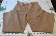 Columbia Relaxed Casual Pants Men's 100% Cotton Khaki Brown Sz 36 x 32