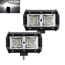 2tlg 12V 54W LED Offroad Zusatzscheinwerfer Flutlampe Weiß Wasserdicht Auto Lkw