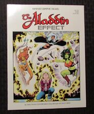 1985 THE ALADDIN EFFECT Marvel Graphic Novel #16 VF 8.0 1st Printing