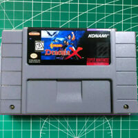 Castlevania Dracula X Snes Super Nintendo  USA version FREE SHIPPING