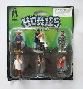 Homies Figures Series 7 NIB Sealed 2003 Blister Pack Tortuga Shadow Pelo Pelo