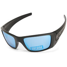 Oakley Fuel Cell OO9096-D8 Matte Black/Prizm Deep H2O Polarised Men's Sunglasses
