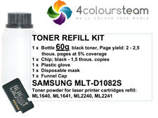 60g TONER REFILL WITH CHIP FOR SAMSUNG ML 1640 ML1640 ML-1640