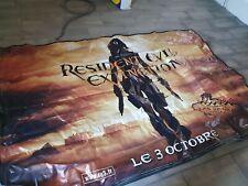 grande PLV Film Resident Evil Extinction 2007 Milla Jojovich 2x3m las vegas