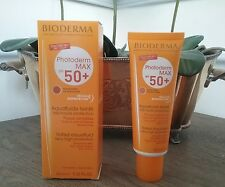 Bioderma Photoderm MAX SPF 50+ Aquafluid Tinted Sunscreen Sensitive Skin New