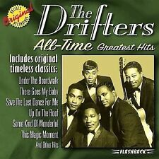 All-Time Greatest Hits [Rhino Flashback] The Drifters HITS Minty CD New Case