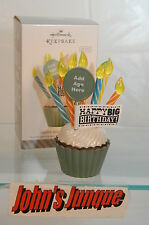 HAPPY BIG BIRTHDAY~NEW 2014~ALL AGES~HALLMARK ORNAMENT~FREE SHIP IN US~