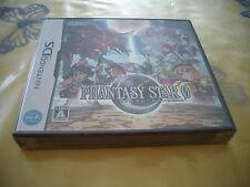 >> PHANTASY STAR ZERO RPG NINTENDO DS SEGA JAPAN IMPORT NOS NEW OLD STOCK! <<